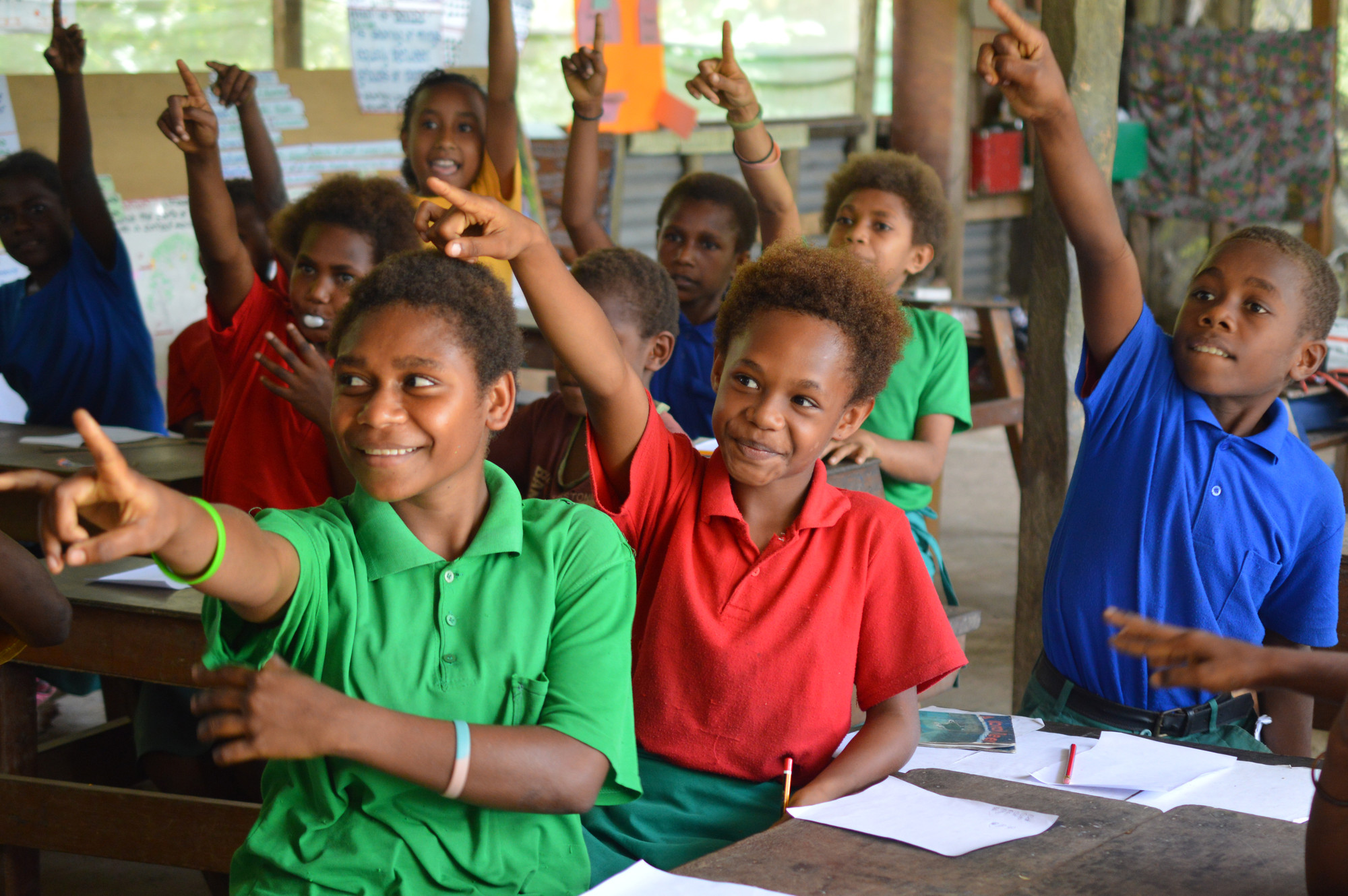 education projects in png