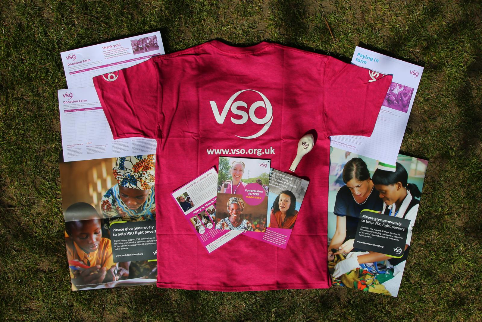 The VSO fundraising pack