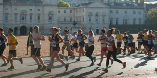 Runners raising funds for VSO by running the royal parks half marathon