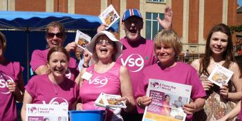 Fundraising for VSO