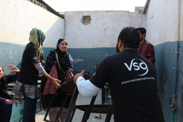 VSO Volunteer in Pakistan