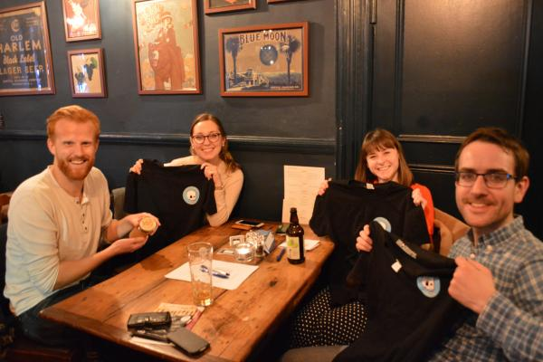 VSO supporters having fun at VSO London Action Group's Pub Quiz