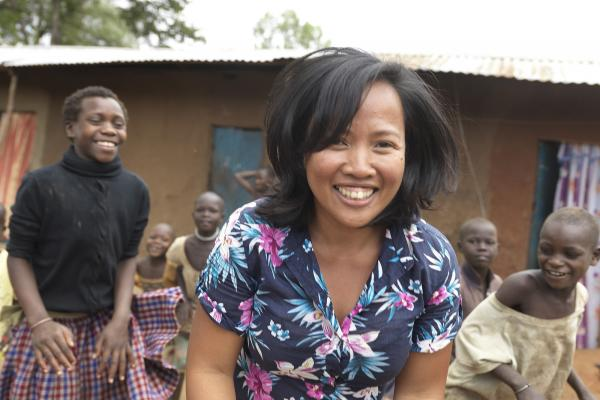 Janice Ann Perez is an education volunteer from the Philippines. She's bringing her expertise in child-centred teaching to assess the needs of primary schools across Karamoja, the most deprived region of northern Uganda.
