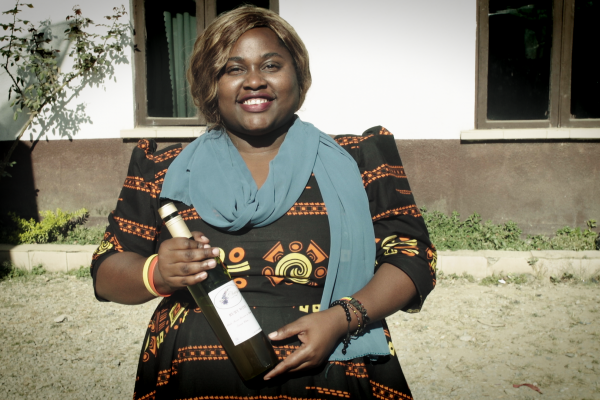 Chany Henry, hibiscus wine maker from Tanzania