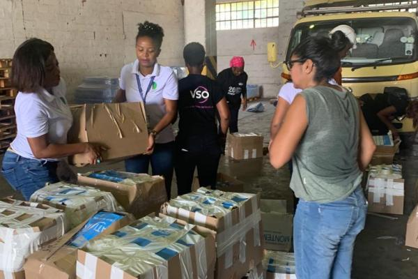 VSO volunteers and staff help with the relief effort | Cyclone Idai