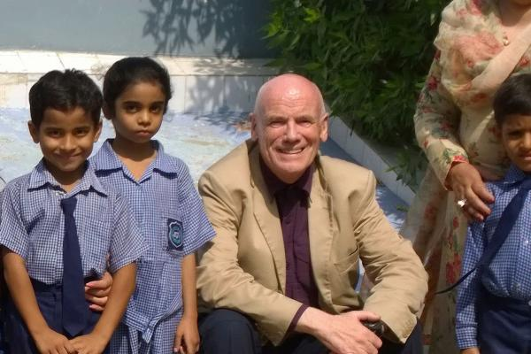 Bill Carr VSO volunteer in Pakistan