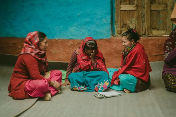 Role plays to explore gender equality in Nepal