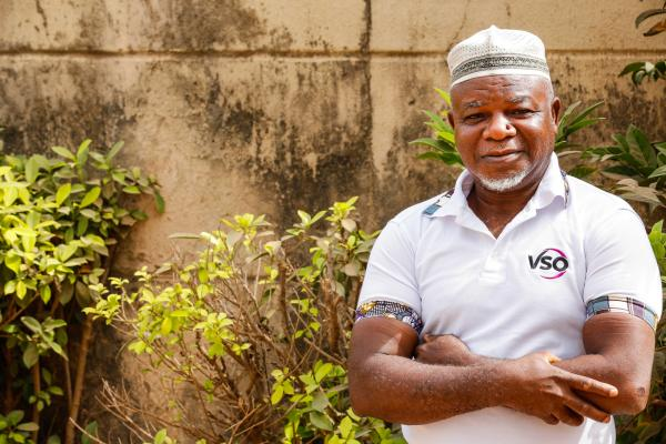 Yusuf Abdulrahman, 62, pictured here, is an engineer and farmer but grew up in a Fulani household.