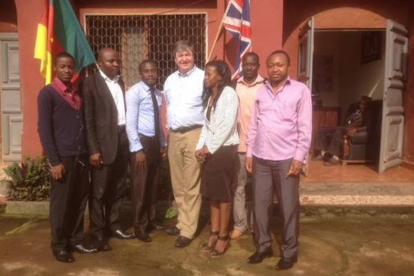Alistair Carmichael on placement in Cameroon